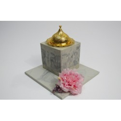 Small incense in marble